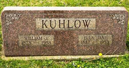 KUHLOW, WILLIAM J - Richland County, Ohio | WILLIAM J KUHLOW - Ohio Gravestone Photos