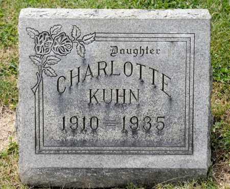 KUHN, CHARLOTTE - Richland County, Ohio   CHARLOTTE KUHN - Ohio Gravestone Photos