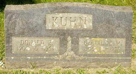 KUHN, GERTRUDE M - Richland County, Ohio | GERTRUDE M KUHN - Ohio Gravestone Photos