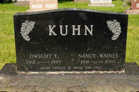 KUHN, NANCY - Richland County, Ohio | NANCY KUHN - Ohio Gravestone Photos