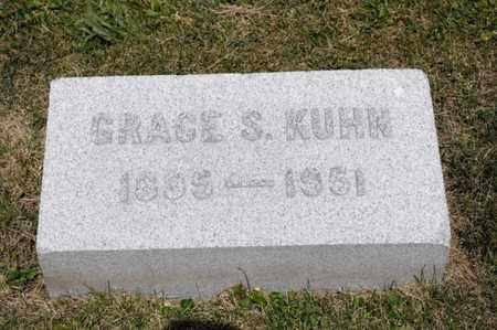 KUHN, GRACE S - Richland County, Ohio | GRACE S KUHN - Ohio Gravestone Photos
