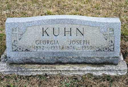 KUHN, GEORGIA - Richland County, Ohio   GEORGIA KUHN - Ohio Gravestone Photos