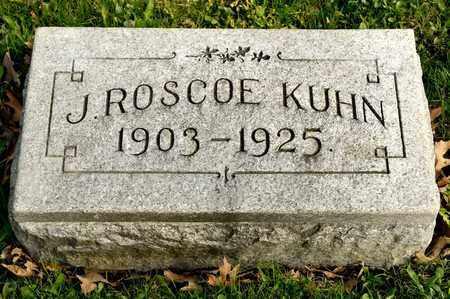 KUHN, J ROSCOE - Richland County, Ohio   J ROSCOE KUHN - Ohio Gravestone Photos