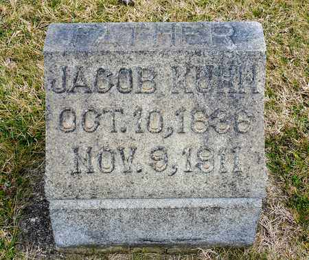 KUHN, JACOB - Richland County, Ohio | JACOB KUHN - Ohio Gravestone Photos