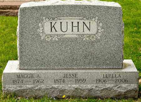 KUHN, JESSE - Richland County, Ohio | JESSE KUHN - Ohio Gravestone Photos