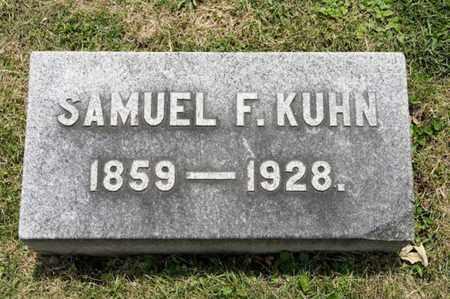 KUHN, SAMUEL F - Richland County, Ohio | SAMUEL F KUHN - Ohio Gravestone Photos