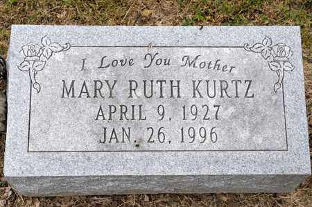 KURTZ, MARY RUTH - Richland County, Ohio | MARY RUTH KURTZ - Ohio Gravestone Photos
