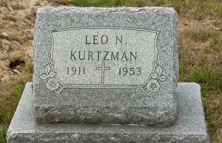 KURTZMAN, LEO N - Richland County, Ohio   LEO N KURTZMAN - Ohio Gravestone Photos