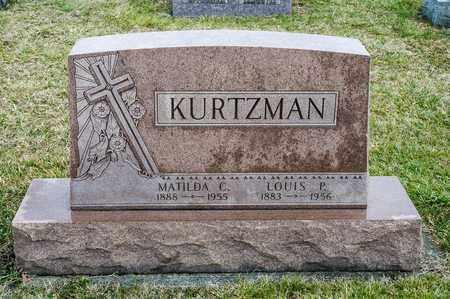 KURTZMAN, MATILDA C - Richland County, Ohio   MATILDA C KURTZMAN - Ohio Gravestone Photos