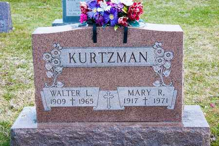 KURTZMAN, MARY R - Richland County, Ohio | MARY R KURTZMAN - Ohio Gravestone Photos