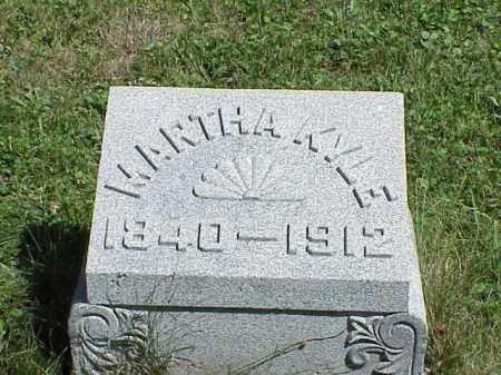 KYLE, MARTHA - Richland County, Ohio | MARTHA KYLE - Ohio Gravestone Photos