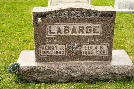 LABARGE, HENRY J - Richland County, Ohio   HENRY J LABARGE - Ohio Gravestone Photos
