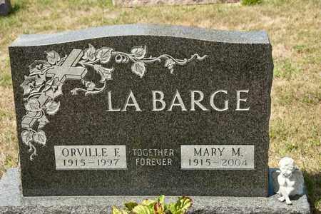 LABARGE, MARY M - Richland County, Ohio | MARY M LABARGE - Ohio Gravestone Photos