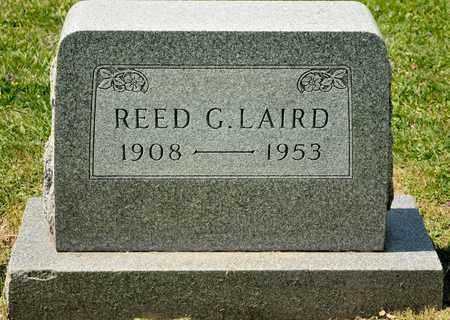 LAIRD, REED G - Richland County, Ohio   REED G LAIRD - Ohio Gravestone Photos