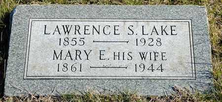 LAKE, MARY E - Richland County, Ohio | MARY E LAKE - Ohio Gravestone Photos