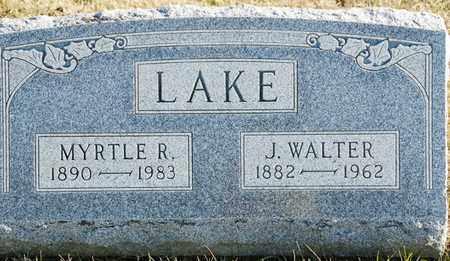 LAKE, MYRTLE R - Richland County, Ohio | MYRTLE R LAKE - Ohio Gravestone Photos