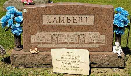 LAMBERT, ZELDA - Richland County, Ohio | ZELDA LAMBERT - Ohio Gravestone Photos
