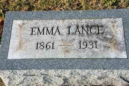 LANCE, EMMA - Richland County, Ohio | EMMA LANCE - Ohio Gravestone Photos