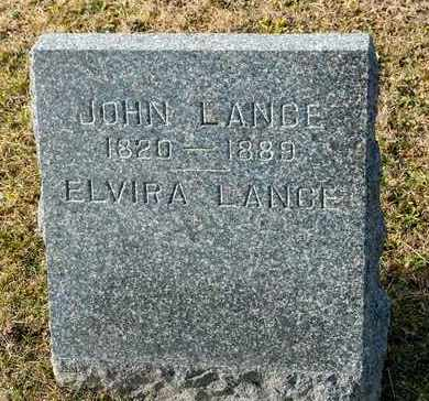 LANCE, JOHN - Richland County, Ohio | JOHN LANCE - Ohio Gravestone Photos