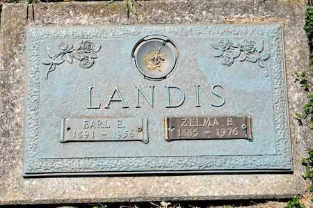 LANDIS, EARL E - Richland County, Ohio | EARL E LANDIS - Ohio Gravestone Photos