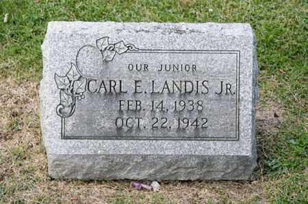 LANDIS JR, CARL E - Richland County, Ohio | CARL E LANDIS JR - Ohio Gravestone Photos