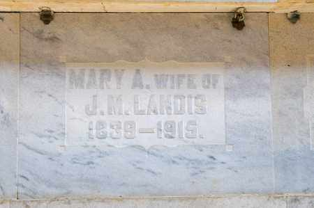 LANDIS, MARY A - Richland County, Ohio | MARY A LANDIS - Ohio Gravestone Photos