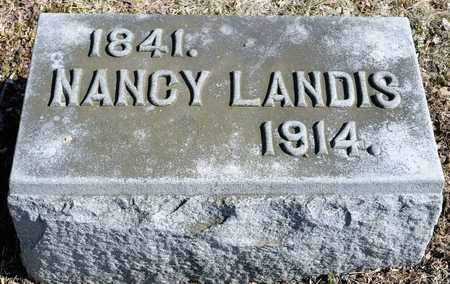 LANDIS, NANCY - Richland County, Ohio | NANCY LANDIS - Ohio Gravestone Photos