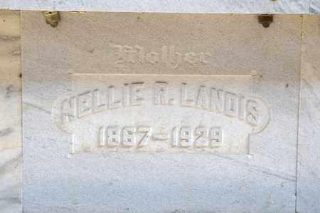 LANDIS, NELLIE R - Richland County, Ohio | NELLIE R LANDIS - Ohio Gravestone Photos