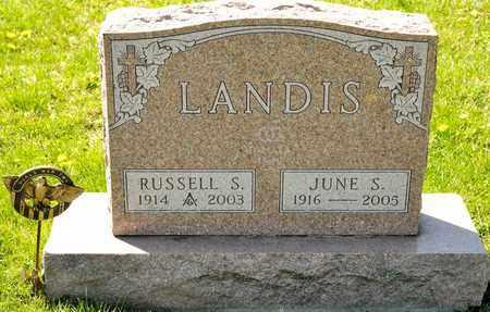 LANDIS, RUSSELL S - Richland County, Ohio | RUSSELL S LANDIS - Ohio Gravestone Photos