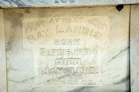 LANDIS, RAY - Richland County, Ohio   RAY LANDIS - Ohio Gravestone Photos