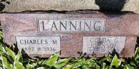 JOHNSON LANNING, GOLDA G - Richland County, Ohio | GOLDA G JOHNSON LANNING - Ohio Gravestone Photos