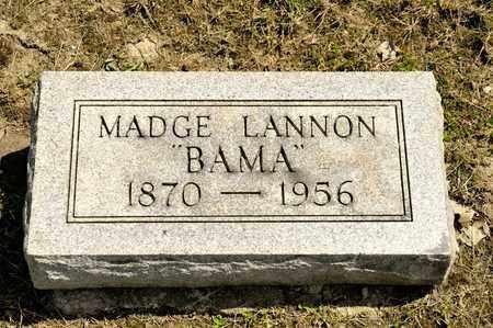 LANNON, MADGE - Richland County, Ohio | MADGE LANNON - Ohio Gravestone Photos