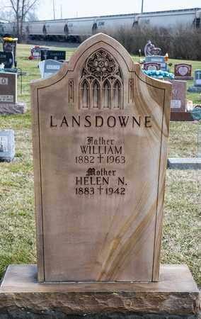 LANSDOWNE, HELEN N - Richland County, Ohio | HELEN N LANSDOWNE - Ohio Gravestone Photos