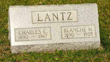 LANTZ, BLANCHE M - Richland County, Ohio | BLANCHE M LANTZ - Ohio Gravestone Photos