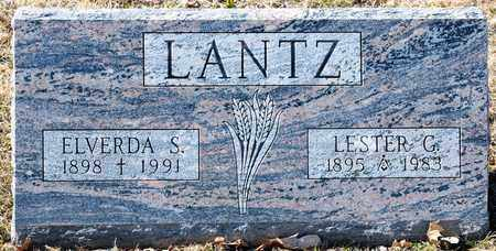 LANTZ, ELVERDA S - Richland County, Ohio | ELVERDA S LANTZ - Ohio Gravestone Photos