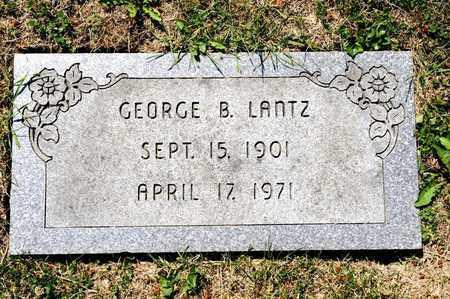 LANTZ, GEORGE B - Richland County, Ohio | GEORGE B LANTZ - Ohio Gravestone Photos