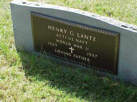 LANTZ, HENRY G. - Richland County, Ohio   HENRY G. LANTZ - Ohio Gravestone Photos