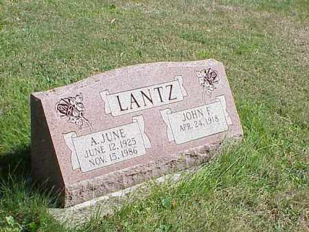 LANTZ, A. JUNE - Richland County, Ohio | A. JUNE LANTZ - Ohio Gravestone Photos