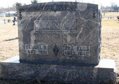 LANTZ, URA ELLA - Richland County, Ohio   URA ELLA LANTZ - Ohio Gravestone Photos