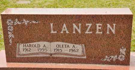 LANZEN, OLETA A - Richland County, Ohio | OLETA A LANZEN - Ohio Gravestone Photos