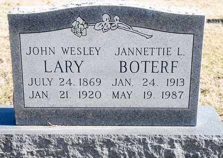 BOTERF, JEANETTIE NORA - Richland County, Ohio | JEANETTIE NORA BOTERF - Ohio Gravestone Photos