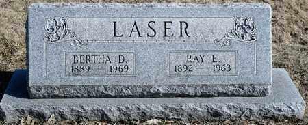 LASER, BERTHA D - Richland County, Ohio | BERTHA D LASER - Ohio Gravestone Photos