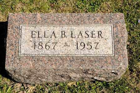 LASER, ELLA B - Richland County, Ohio   ELLA B LASER - Ohio Gravestone Photos