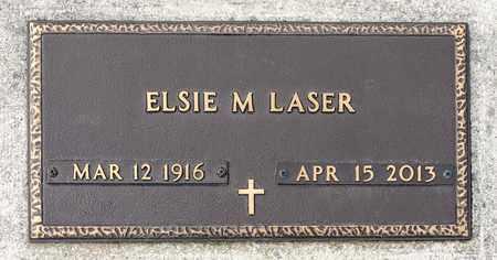 LASER, ELSIE M - Richland County, Ohio | ELSIE M LASER - Ohio Gravestone Photos
