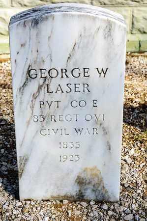 LASER, GEORGE W - Richland County, Ohio | GEORGE W LASER - Ohio Gravestone Photos