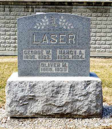LASER, OLIVER M - Richland County, Ohio | OLIVER M LASER - Ohio Gravestone Photos