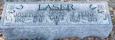 LASER, J FRANK - Richland County, Ohio   J FRANK LASER - Ohio Gravestone Photos