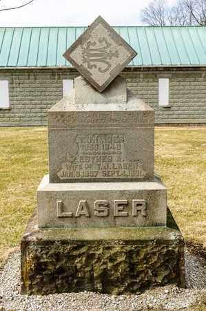 LASER, ESTHER A - Richland County, Ohio | ESTHER A LASER - Ohio Gravestone Photos