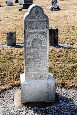 LASER, WILLIAM FRANK - Richland County, Ohio | WILLIAM FRANK LASER - Ohio Gravestone Photos