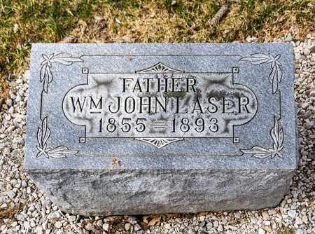 LASER, WILLIAM JOHN - Richland County, Ohio   WILLIAM JOHN LASER - Ohio Gravestone Photos
